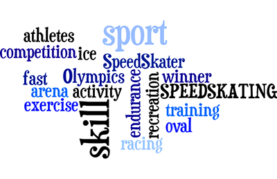 Speed Skating Training, Oval, Arena, Recreation and Racing